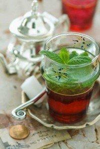 thé à la menthe maroc