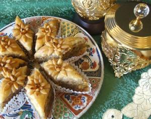 Baklawa patisserie arabe