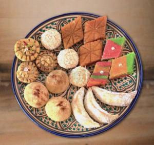 H'rissa gâteau algérien pour ramadan