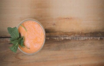 smoothie orange gingembre
