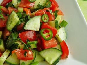 coban salatasi - Salade turque pour Ramadan