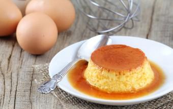 Recette crème aux oeufs et caramel