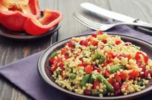 salade couscous legumes
