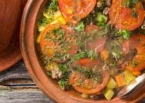 Tajine de légumes et pommes de terre