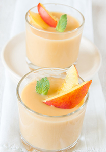 smoothie pêche orange abricot