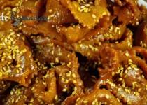 Chebakia marocaine (Mkherka)