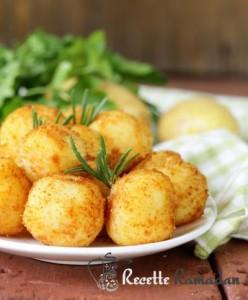 croquette de patate à la mozzarella
