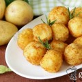 croquette de pomme de terre mozzarella