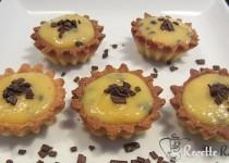 Tartelette crème passion