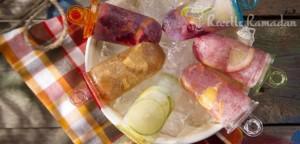 Glace à l'eau et aux fruits