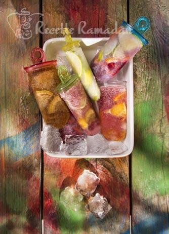 Recette glace aux fruits