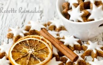 sablé citron cannelle pour l'Aïd