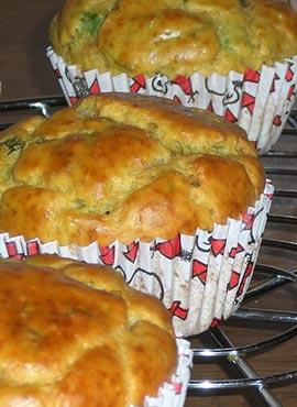 Recette de Muffins Salés