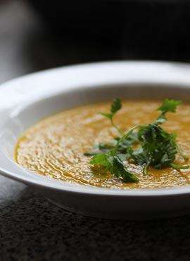 Recette soupe à la carotte