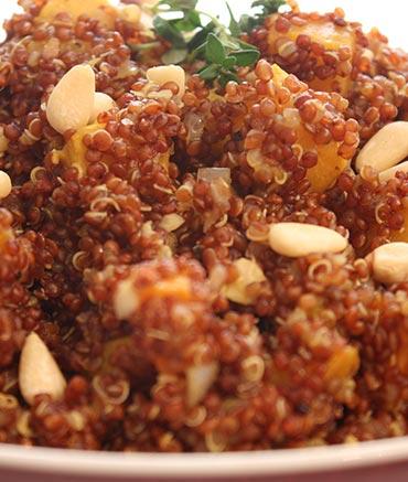 salade quinoa rouge amande