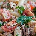 Salade de pâte au thon