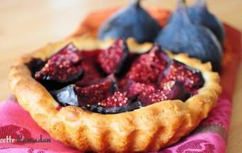 recette de tartelettes aux figues