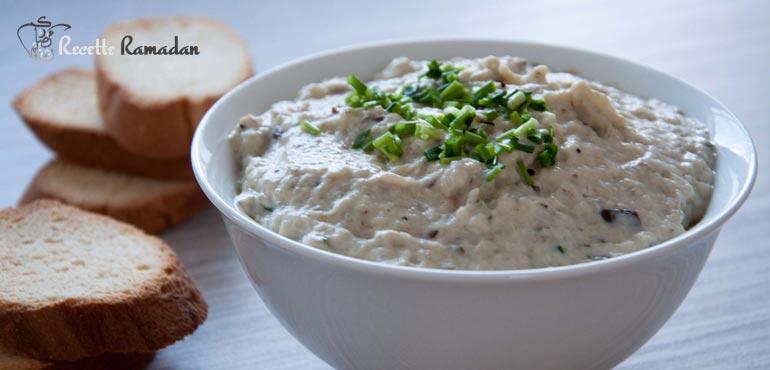 Recette de Caviar d'aubergine à la libanaise