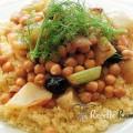 Couscous végétarien au fenouil et pois chiche