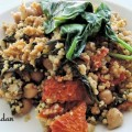 recette couscous épinard tomate