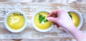 Soupe de pomme de terre et poireaux