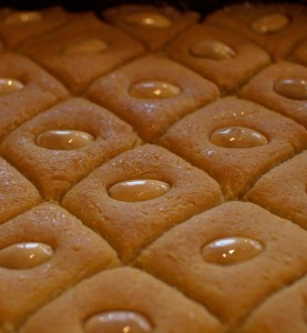 Namoura, gâteau libanais