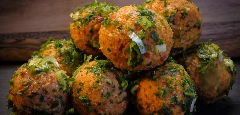boulettes de boulgour turques