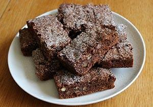 brownies chocolat vegan