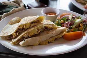 quesadillas poulet fromage