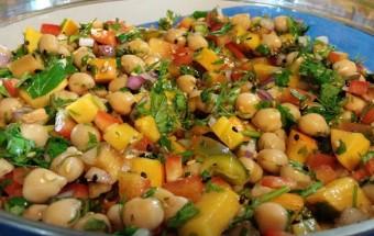 salade pois chiche