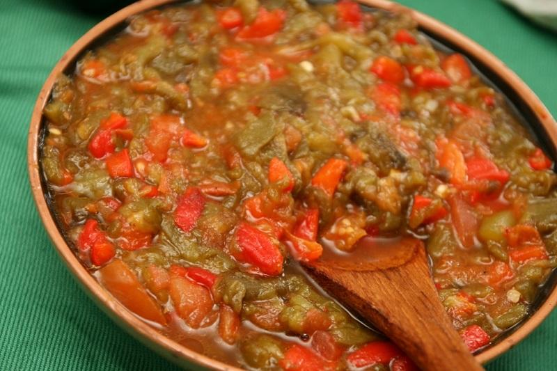 Hmiss salade alg rienne aux poivrons recette ramadan - Recette de cuisine algerienne traditionnelle ...