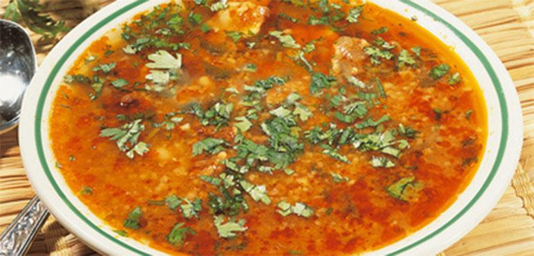 Recette chorba frik soupe alg rienne recette ramadan - Recette de cuisine algerienne traditionnelle ...