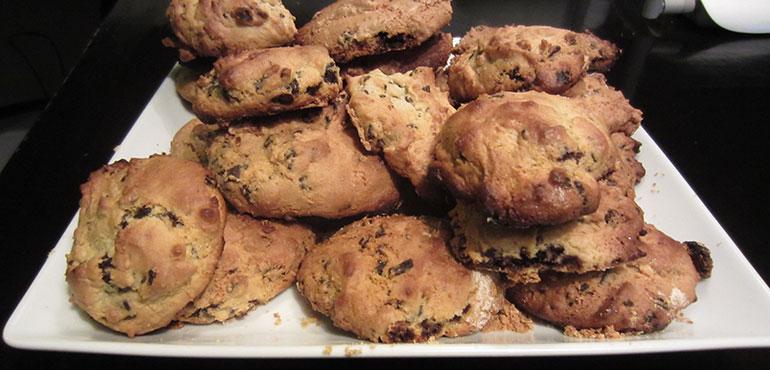 Cookies aux raisins secs