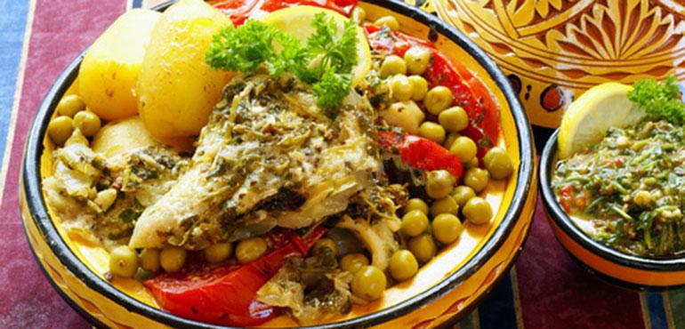 recette de tajine de poissonau chermoula