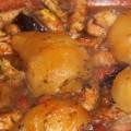 tajine de poulet et poires caramélisées