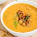 soupe potiron pois chiche